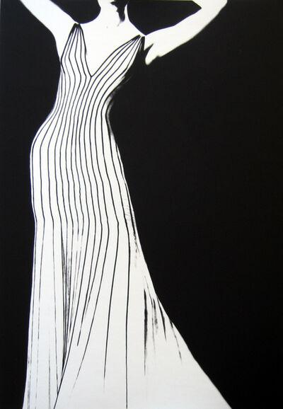 Lillian Bassman, 'Dress by Thierry Mugler, German VOGUE', 1998