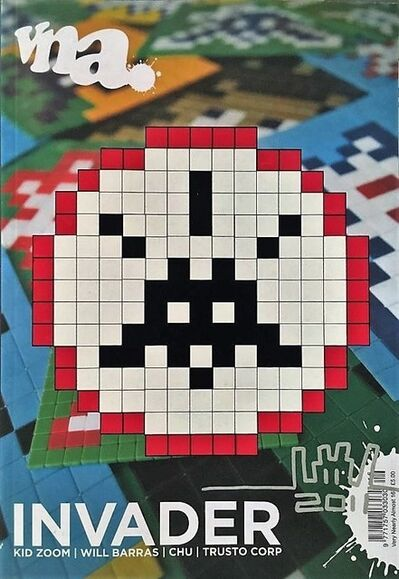 Invader, 'Very Nearly Almost Signed Cover', 2011