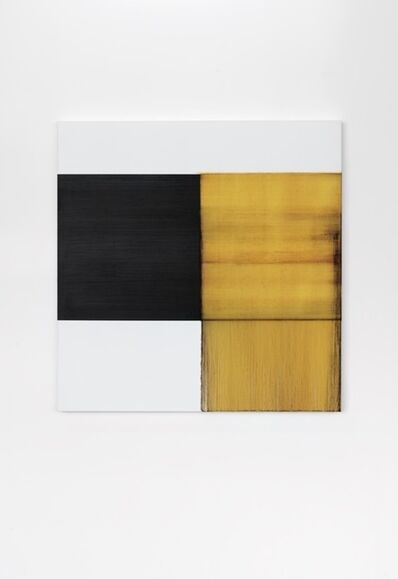 Callum Innes, 'Exposed Painting Quinacridone Gold', 2020