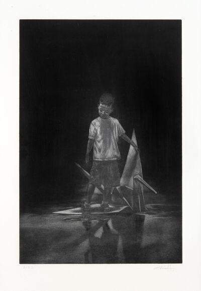 Ernest Zacharevic, 'Floor Is Lava', 2015