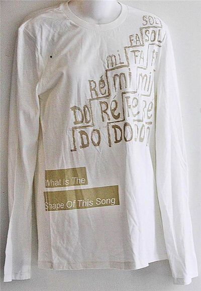 Helmut Lang, 'What is the Shape of this Song, Limited Edition Shirt', 2013