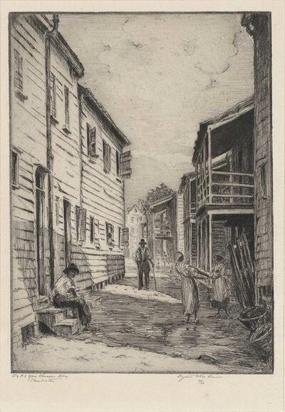 Elizabeth O'Neill Verner, 'Do As You Choose Alley, Charleston'