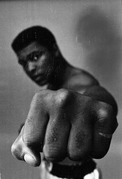 Thomas Hoepker, 'Ali left fist, London', 1966