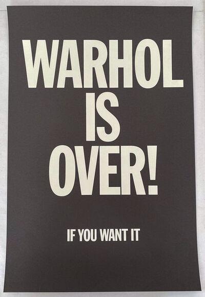 Simon Thompson, 'Warhol is over (Black)', 2007