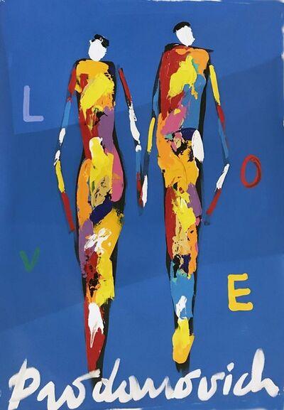 Vladimir Prodanovich, 'Deep Blue Love', 2017