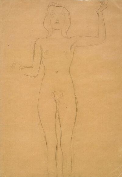 """Gustav Klimt, 'Study for """"Pallas Athene""""', ca. 1898"""