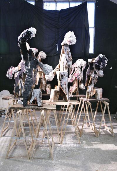 Thibault Hazelzet, 'Atelier, Calais', 2014