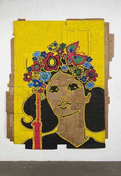 Andrea Bowers, 'Intl. Women's Day (Illustration by Heriberto C. Echeverria Del Pozo, Cuban Communist Party Publishers, 1972)', 2015