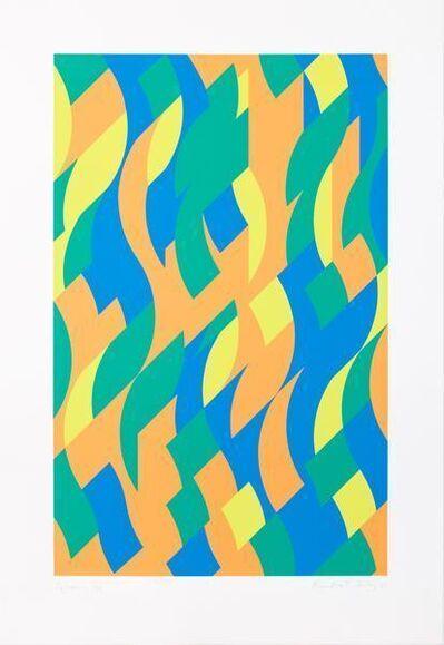 Bridget Riley, 'Sylvan', 2000