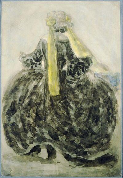 Constantin Guys, 'A Fashionable Woman'