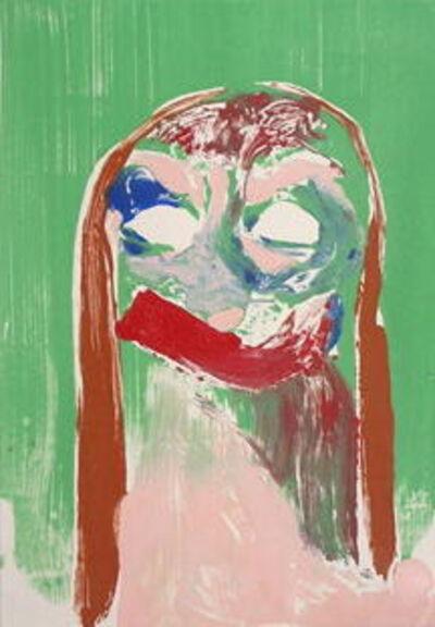 Nicola Tyson, 'Self Portrait (Green #1)', 2002