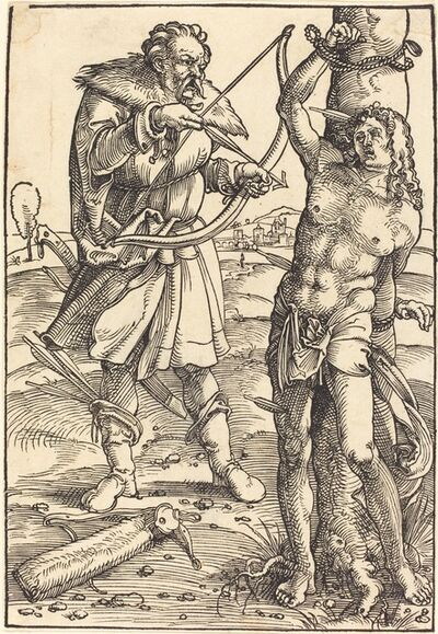 Hans Baldung, 'The Martyrdom of Saint Sebastian'
