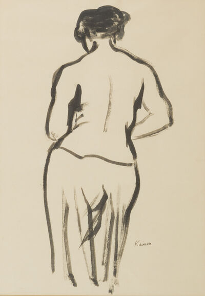 Jacob Kainen, 'Untitled [Figure Drawing]', ca. 1960