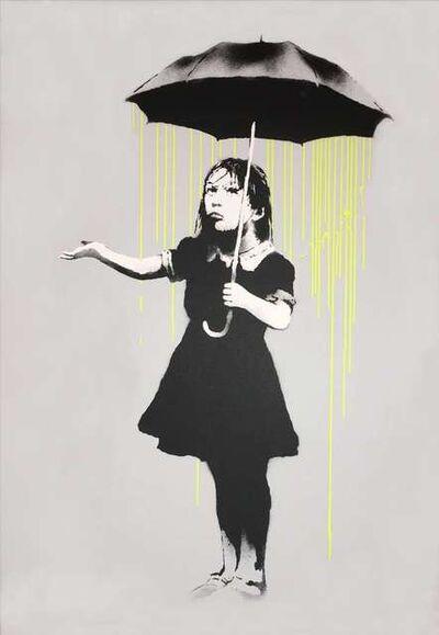 Banksy, 'Nola (Yellow Rain)', ca. 2008