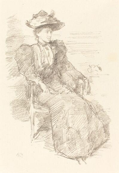 James Abbott McNeill Whistler, 'A Portrait - Miss Howells', 1895