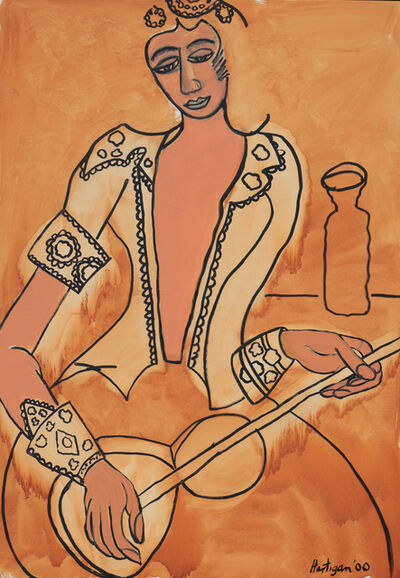Grace Hartigan, 'Moroccan Woman', 2000