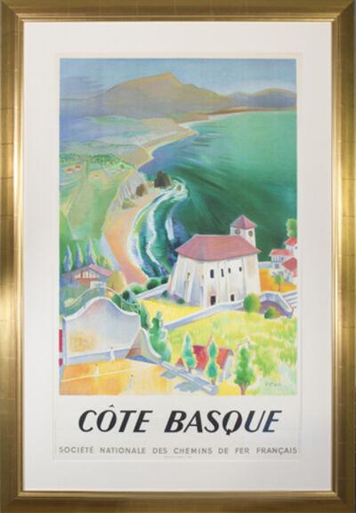 Vecoux, 'Cote Basque (Societe Nationale des Chemins de Fer Francais)', 1946