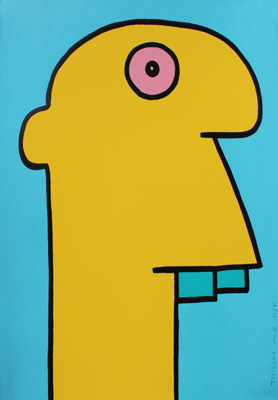 Thierry Noir, 'Yellow Head', 2014
