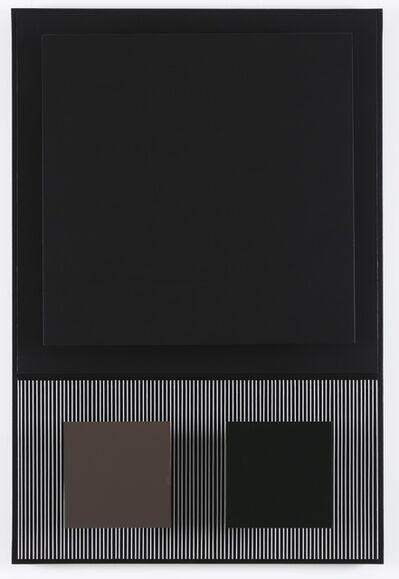 Jesús Rafael Soto, 'carre noir', 1991