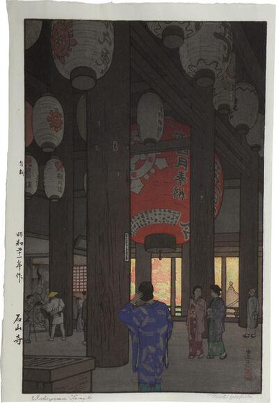 Toshi Yoshida, 'Ishiyama Temple ', ca. 1846