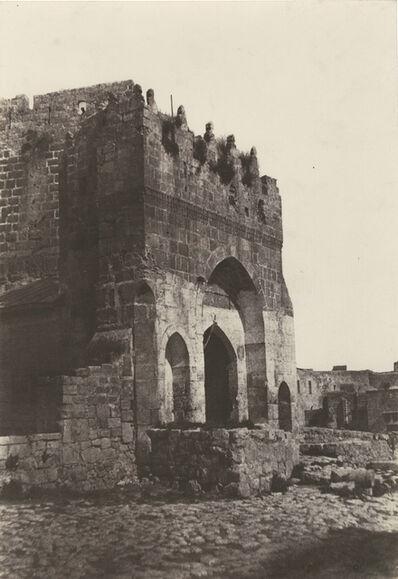 Auguste Salzmann, 'Jerusalem, Porte de la Citadelle', 1854/1854