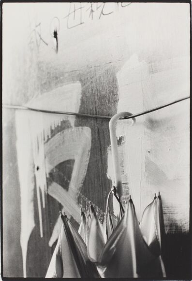 Kazuo Kitai, 'Umbrella, Nihon University, College of Art (Barricade series)', 1968