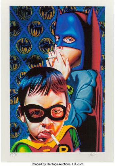 Ron English, 'Batman and the Boy Blunder II', 2007