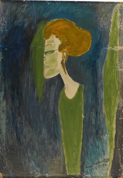 Semíha Berksoy, 'My Mother the Painter Fatma Saime', 1970