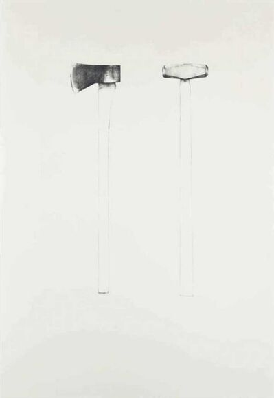 Jim Dine, 'Sledgehammer and axe', 1971