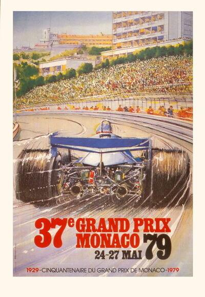 Alain Giampaoli, 'Monaco Grand Prix 1979', 1991