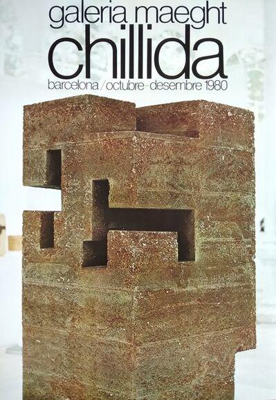 Eduardo Chillida, 'Chillida. Galeria Maeght. Octubre - Desembre 1980', 1980