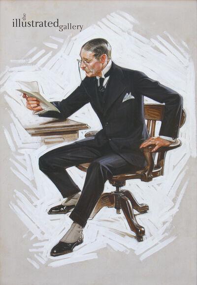 Joseph Christian Leyendecker, 'Kuppenheimer Man', 1915