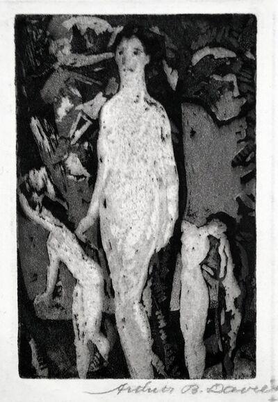 Arthur Bowen Davies, 'Tartessians', 1919