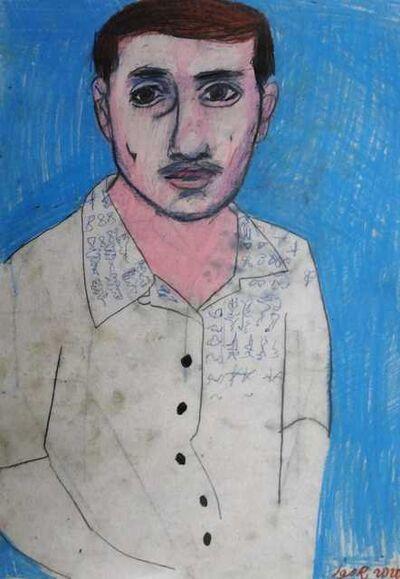 Igor Moritz, 'Blue selfportrait', 2020