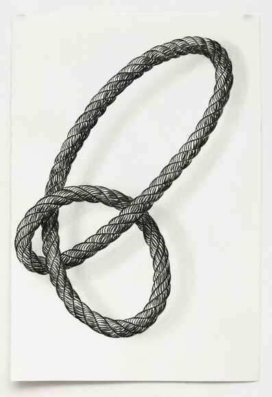 Claudia Parducci, 'Rope Drawing Day 28', 2020