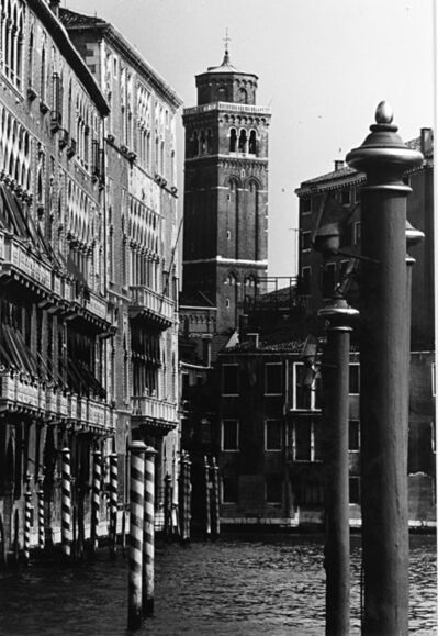 Gianni Berengo Gardin, 'Canal in Venice', years 1960
