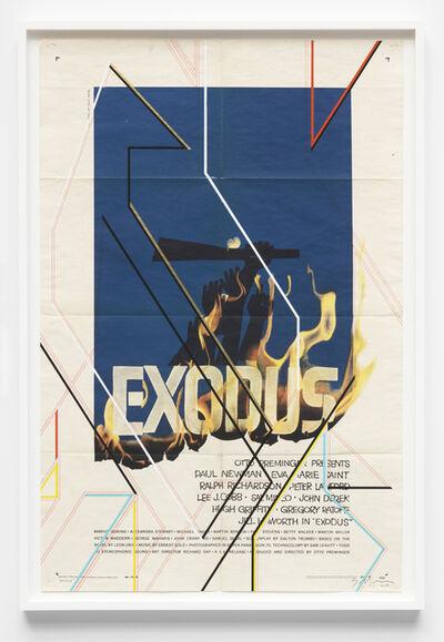 Sarah Morris, 'Exodus', 2017