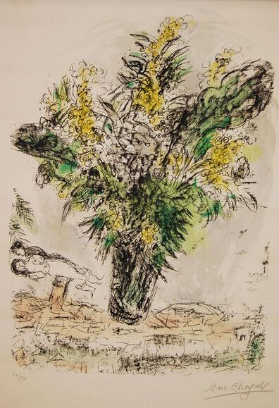 Marc Chagall, 'Les Mimosas ', 1968