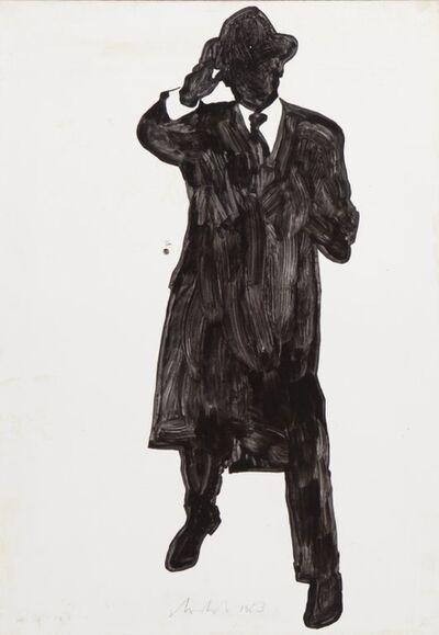 Sergio Lombardo, 'Gesti tipici (La Pira)', 1963