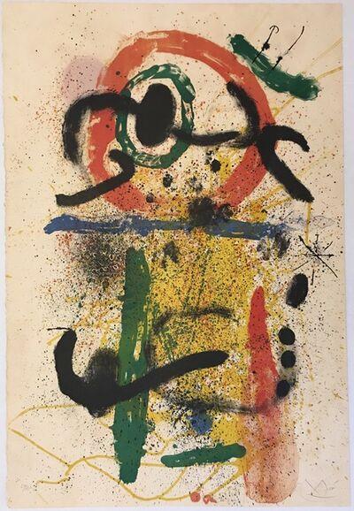 Joan Miró, 'Pierrot le Fou', 1964