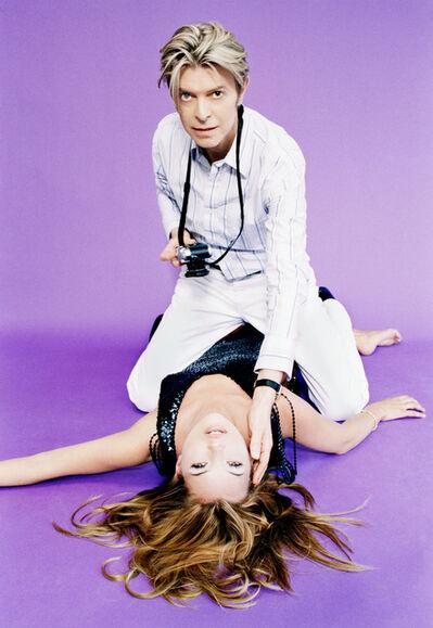 Ellen von Unwerth, 'David Bowie and Kate Moss', 2005