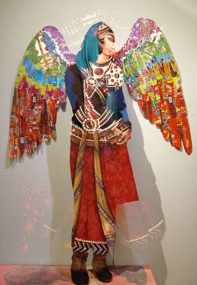 Hojat Amani, 'Angel - New Qajar 3', 2010