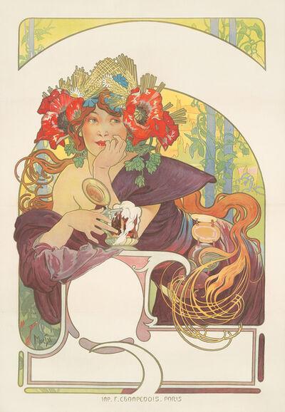 Alphonse Mucha, 'Bières de la Meuse.', 1897