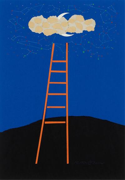 Milton Glaser, 'Juilliard School of Music (Ladder) poster - Original art', 1989