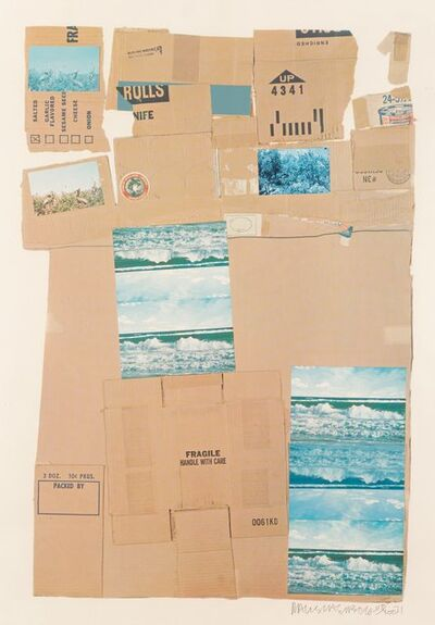 Robert Rauschenberg, 'General Delivery', 1971