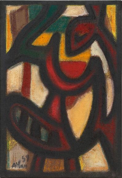 Jean-Michel Atlan, 'Chant d'oiseau', 1959