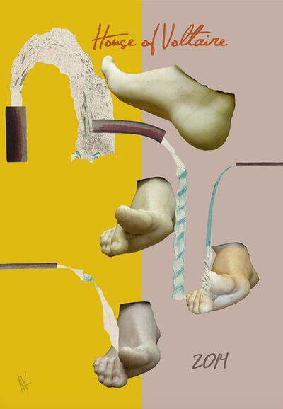 Allison Katz, 'AK 4 HV - BIG TOE', 2014