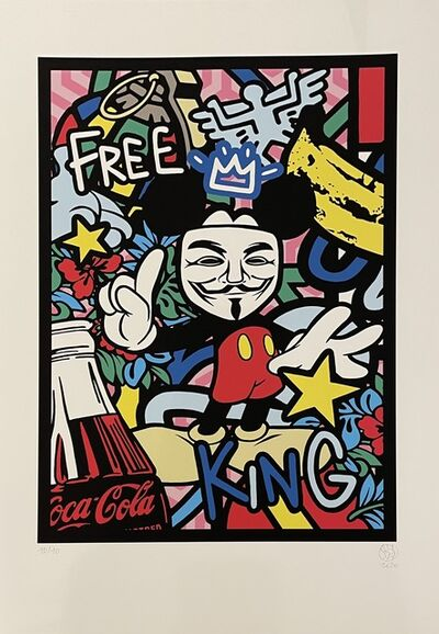 Speedy Graphito, 'Free-King', 2020