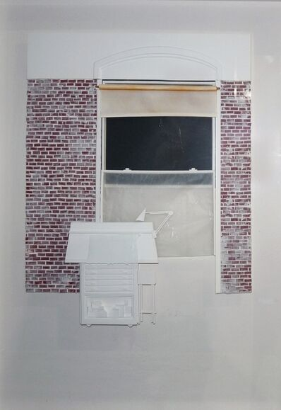 Guenther Riess, 'Studio Window #1 Drafting Table', 1981
