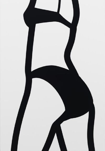 Julian Opie, 'Watching Suzanne (back) 6 (2006) (signed)', 2006
